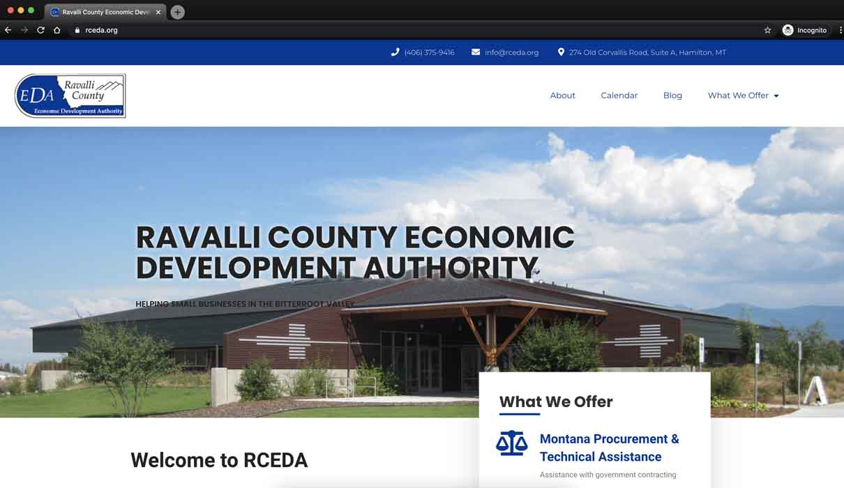 Website RCEDA