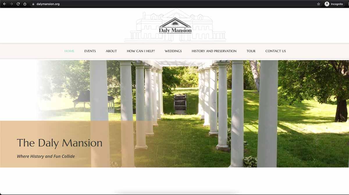 Daly-Mansion-Website